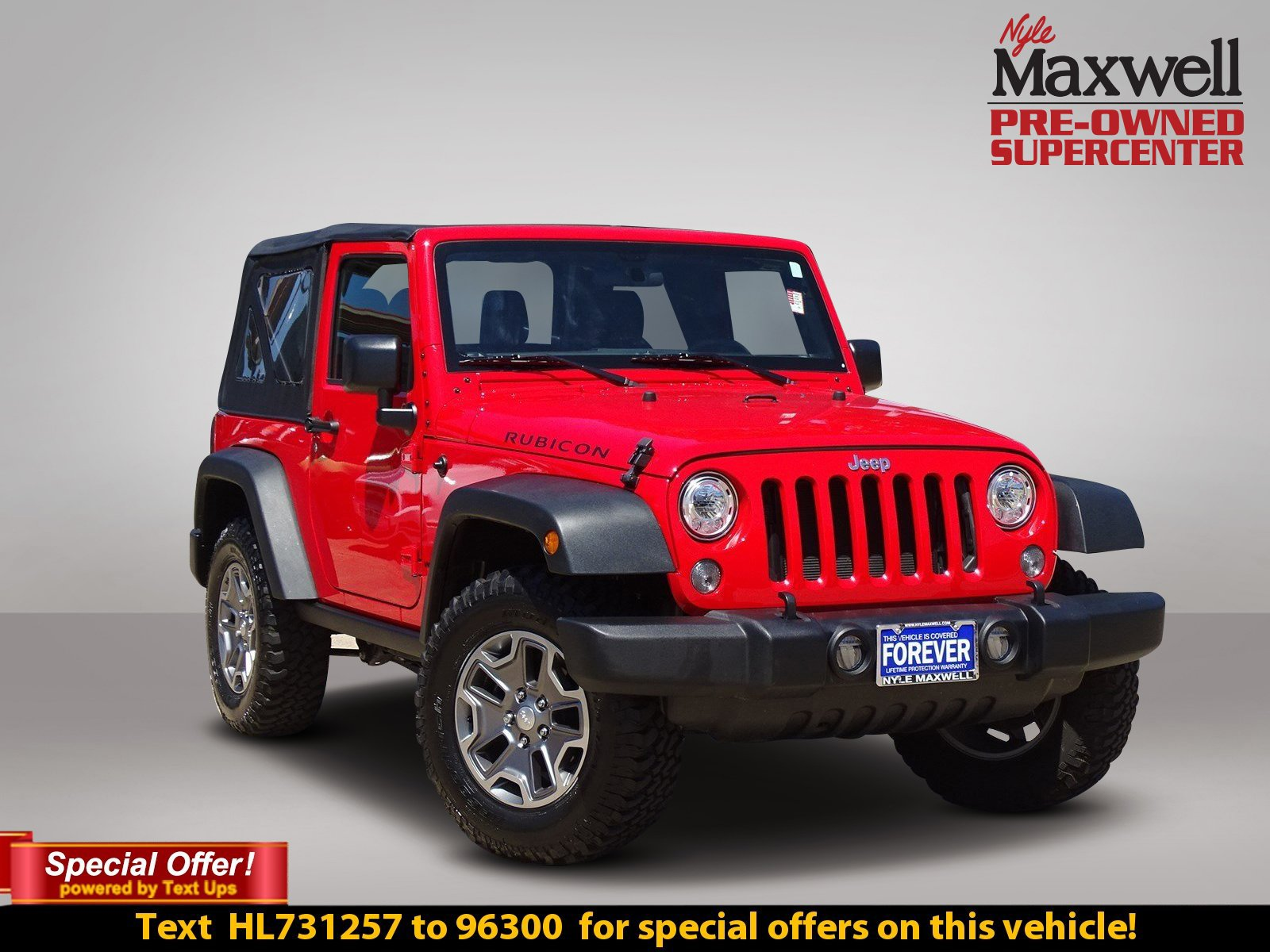 Certified Pre Owned 2017 Jeep Wrangler Rubicon Convertible in Austin