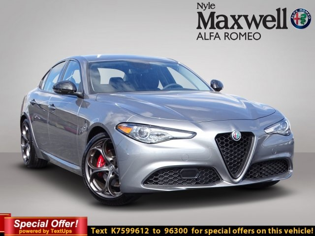 New 2019 Alfa Romeo Giulia Base Sedan In Austin K7599612 Nyle