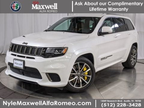 DEALER CERTIFIED 2018 Jeep Grand Cherokee Trackhawk